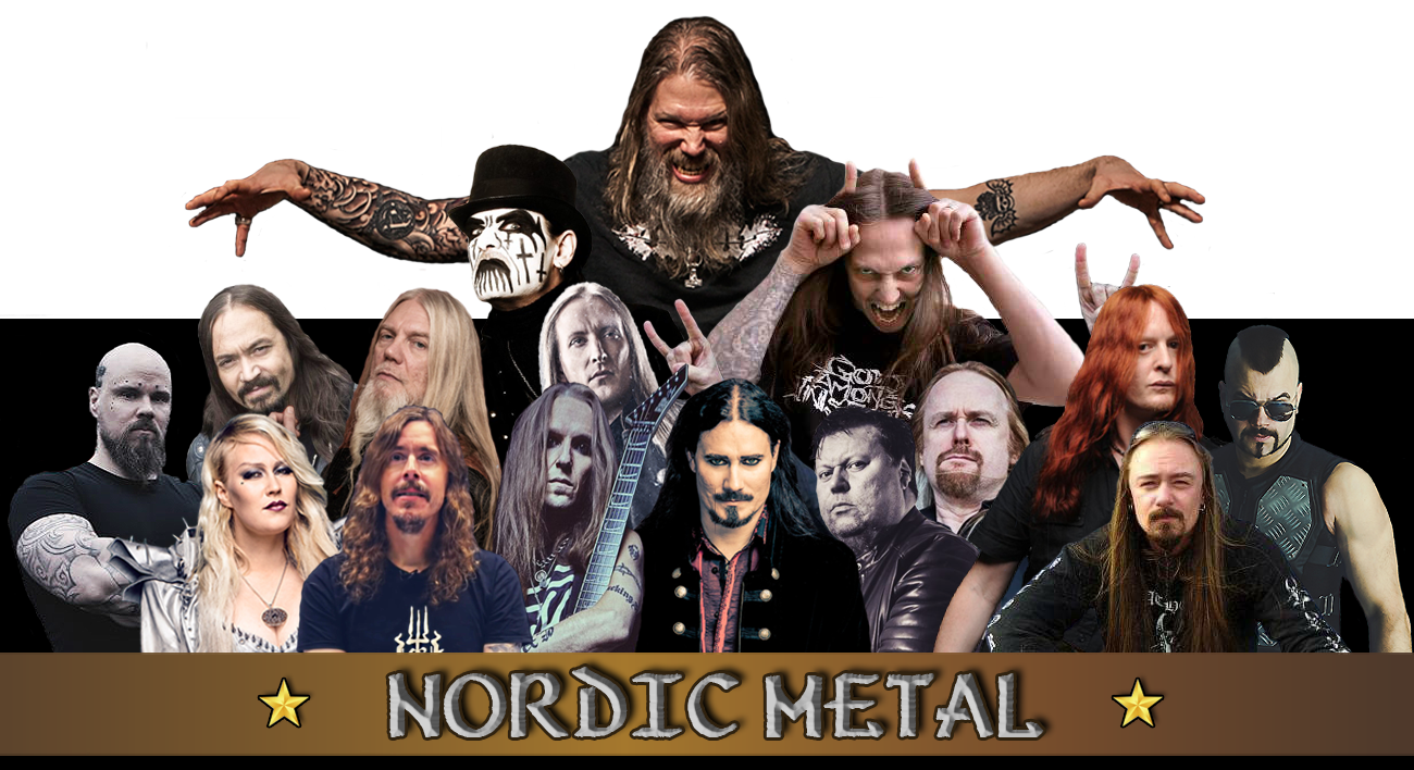 Some of many Nordic Metal heroes!